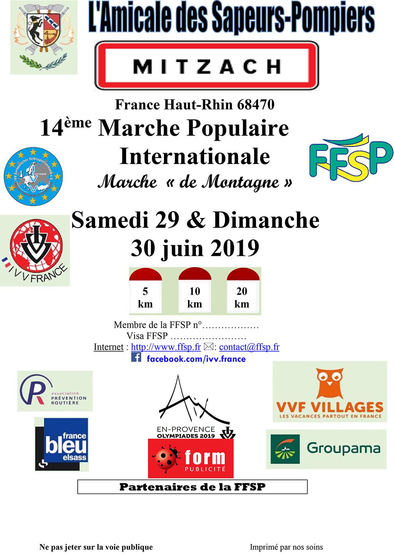 Calendrier Marche Populaire Vosges 2019.Marche Populaire 2019